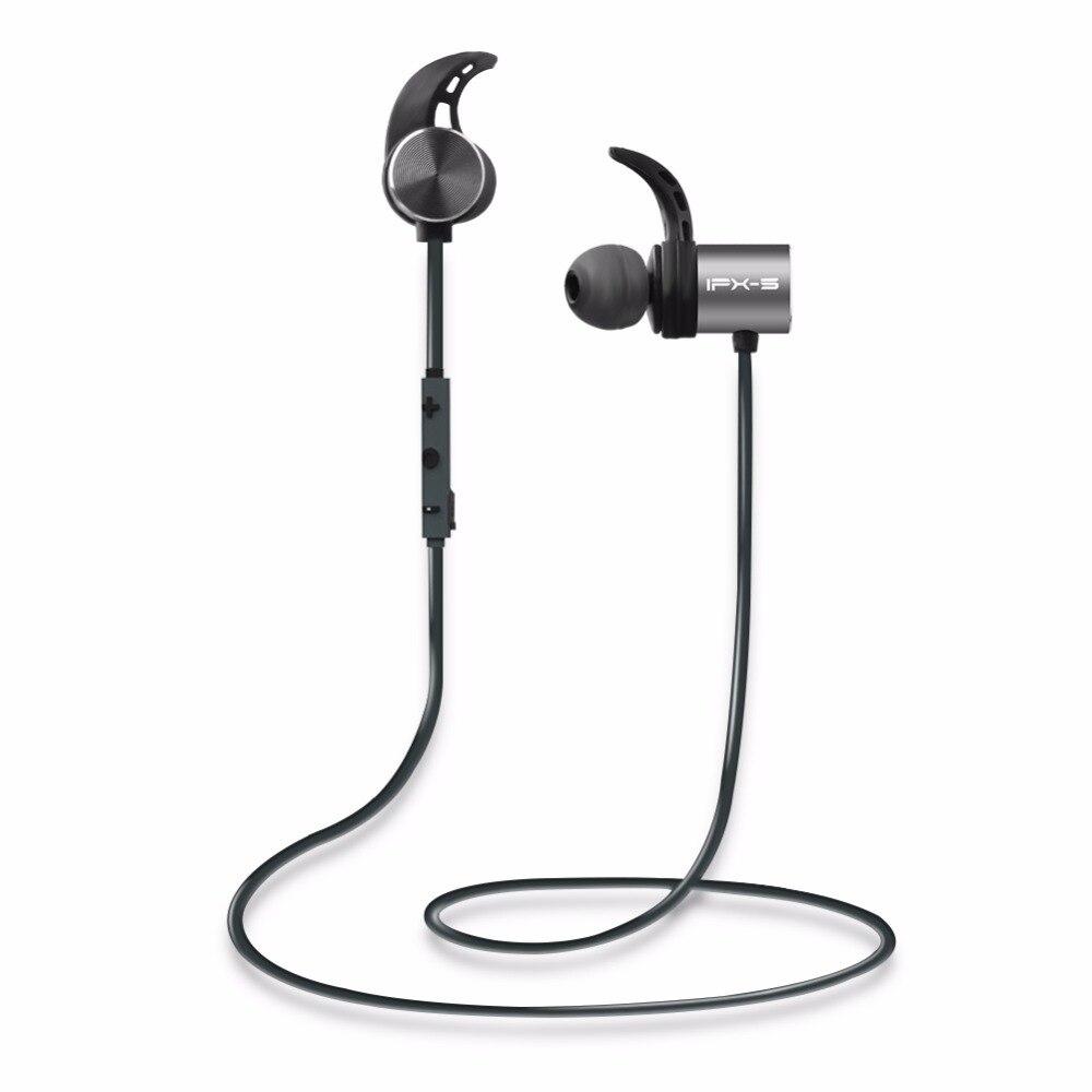 Plextone BX343 Sans Fil Double Batterie 8 heures Casque Bluetooth IPX5 Étanche Écouteurs Magnétique Casque Écouteur