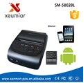 58 мм Портативный Принтер Bluetooth Adroid Мобильный Принтер Мини Принтер Бесплатный с SDK + Ремень Чехол