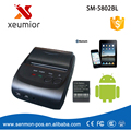 58mm Portable Bluetooth Printer Adroid Mobile Printer Mini Printer Free with SDK + Belt Case