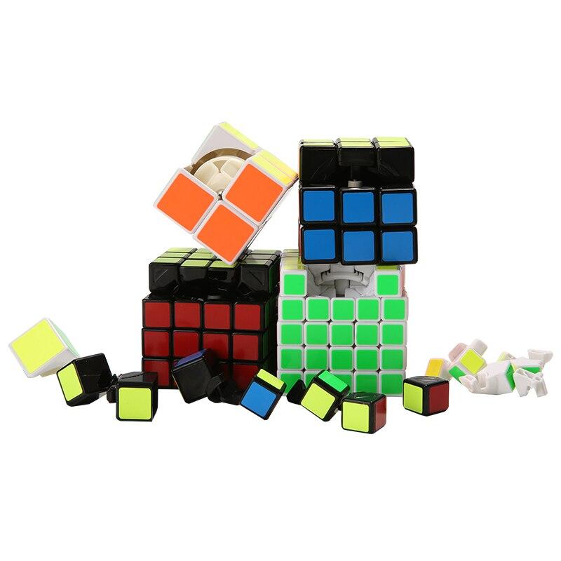 3x3x3 4x4x4 PVC mágikus puzzle kocka csavaró tanulási oktatási játékok gyerekeknek Ajándék agy tesztelő Migico Cubo Magic S kocka