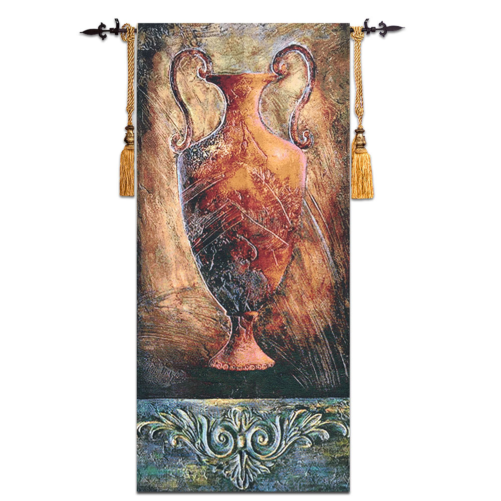 58x138cm Pottery Wall Tapestry Cotton Wall Hanging