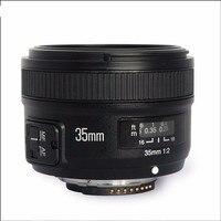Объектив Yongnuo YN35mm F2 широкоугольный объектив с большой диафрагмой с фиксированным автофокусом для Nikon с 58 мм УФ + бленда + чехол