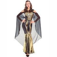 794bc1211f ... Kostiumy Halloween Dla Kobiet. Luxury Gold Black Arabian Pirincess  Dress Ancient Egyptian Cleopatra Costume Sexy Greek Goddess Halloween  Costumes For