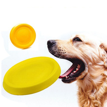 Dog Toys Ball with Rope Flying Discs Chew Toy EVA Pet for Dogs Interactive Small Large Cats Supplies