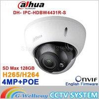 Original Dahua 4MP IPC HDBW4431R S Replace IPC HDBW4421R IP Camera HD Network IR Cctv Dome