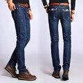 Мужские Джинсы Мужские Джинсовые Брюки Мужская Мода Прямые синие pantalones hombre JE53
