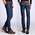 Men's Jeans Male Denim Pant Fashion Men Straight blue hombre pantalones JE53