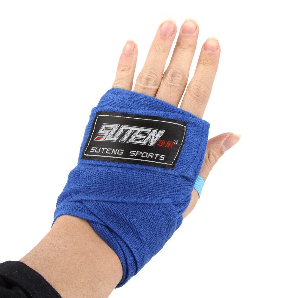 Width 5cm Length 2.5M Cotton Sport Strap Sanda Muay Hand Wraps Boxing SP