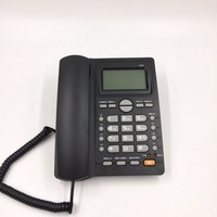 English Language Call ID Redial Landline Phone With DEL Hold For Home Hotel Office Wired Telephone