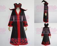 LOL Lulu Cosplay Costume Black Long Coat Halloween Costumes