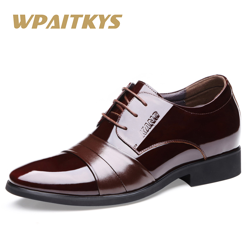 Men's Leather Shoes 2018 New England Leather Shoes Business Leather - Men's Shoes