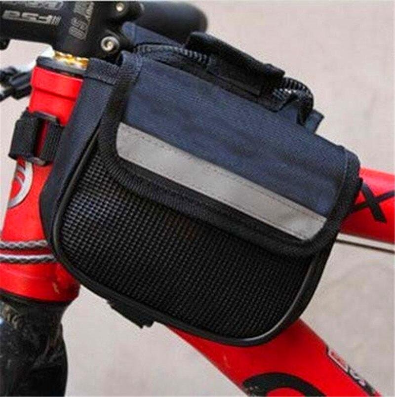New Radfahren Fahrrad rahmen Pannier Vorne Rohr 2 Seiten seite ...