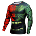 New t-shirt For Men Plus Size Compression Shirt Quick Dry Superman Batman Iron Man Clothing Bodybuilding Men Fitness Tshirt