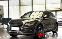 The High Quality For Audi Q5 2008 2012 Stainless Steel Front Rear Bumper Skid Protector Guard