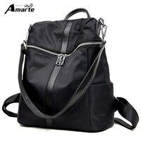 Nylon Shoulder Backpack Women Shoulder Bags