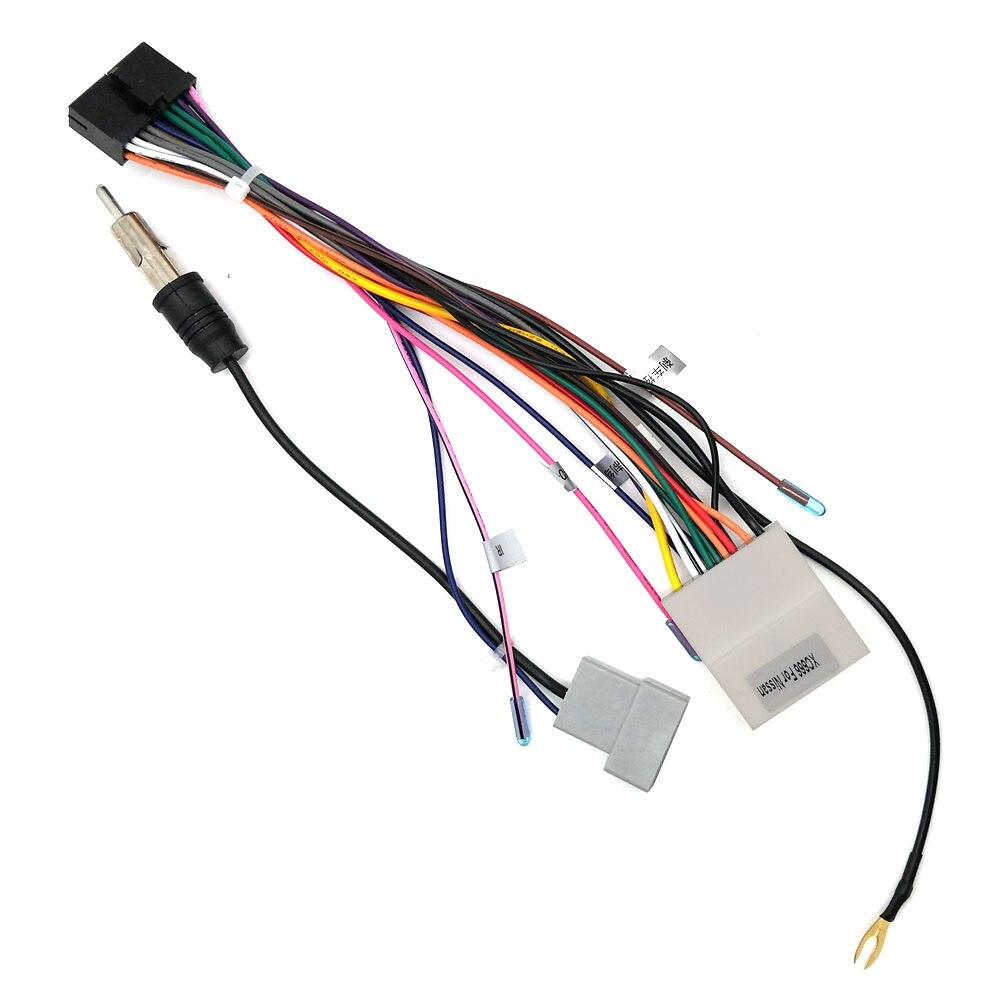 Netzteil Kabelbaumstecker ISO Kabel Verwendet in Ownice Marke Für Nissan Serie Auto DVD-Multimedia-Player Radio System