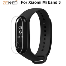Frosted film For Xiaomi Mi band 3 smart bracelet Screen Protector Anti-scratch Protective Film 3pcs / 5pcs