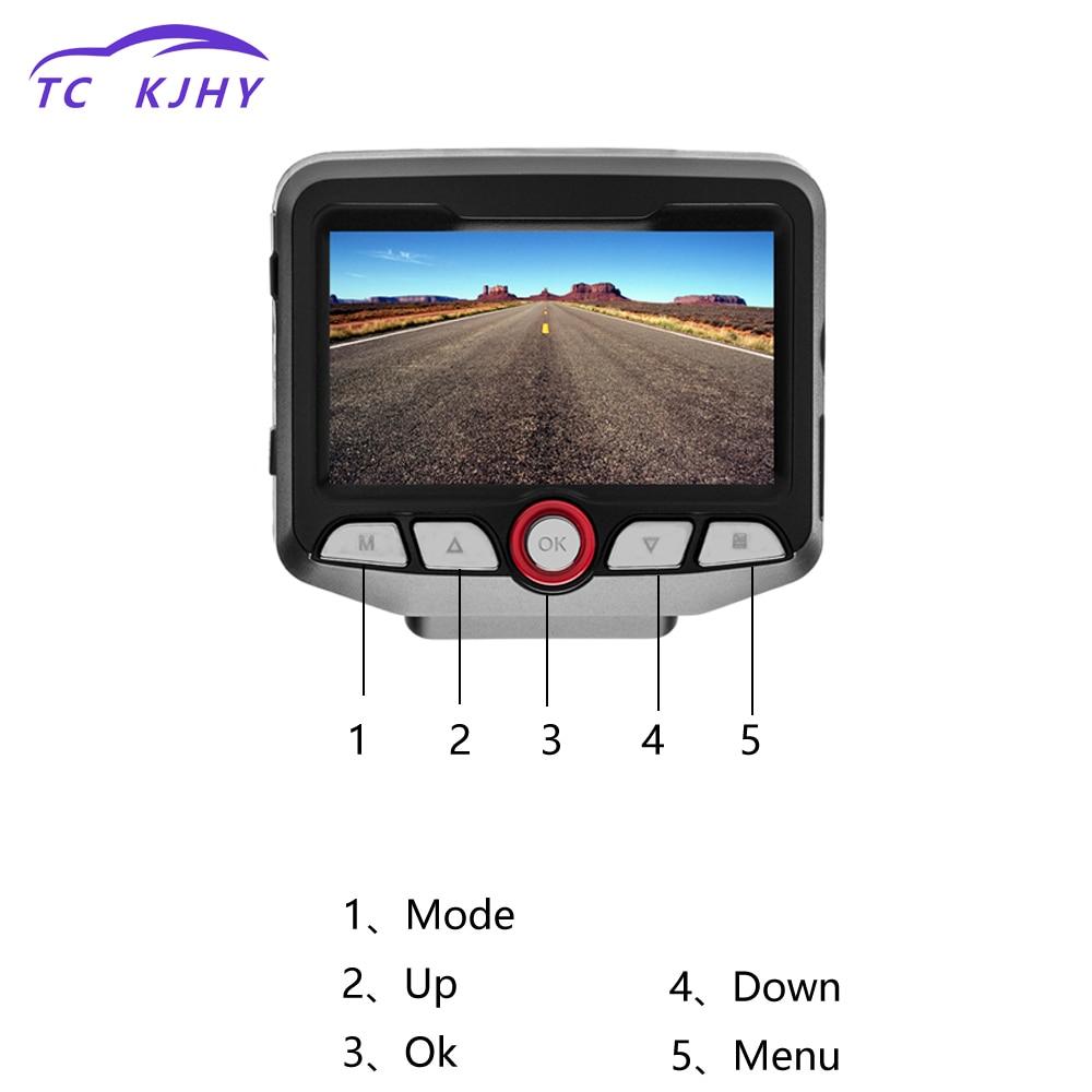 2018 Auto 2.45 Dash Cam HD Dual Lens Video Recorder Wifi Hidden Dash Cam Car DVR Registrator Car Cam Corder Hardwire Converter