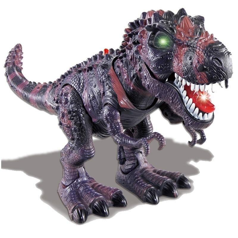 Электронных динозавров Игрушечные лошадки модели динозавров тираннозавр мигающий ходить динозавр, робот ходить динозавров с мигающими и з... ...
