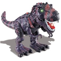 Electronic Dinosaur Toys Dinosaurs Model Tyrannosaurus Flashing Walking Dinosaur Robot Walking Dinosaur With Flashing And Sounds