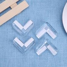 4Pcs Child Baby Silicone Safety Protector Table Corner Protection