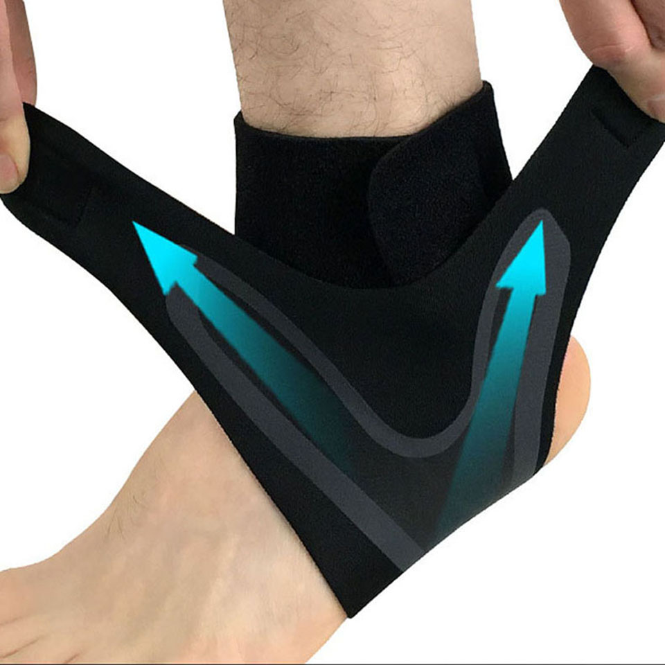 1pc Fitness Adjustable D-ring Ankle Straps Foot Support Ankle Protector Gym Leg Pullery With Buckle Sports Feet Guard We Take Customers As Our Gods Security & Protection