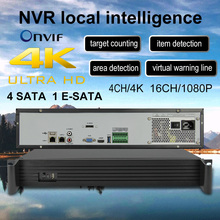 4K H.265/H.264 CCTV NVR Smart Security Surveillance Recorder 16CH 2MP 4CH 8MP Up 64CH 4k IPC access With two-way voice onvif P2P