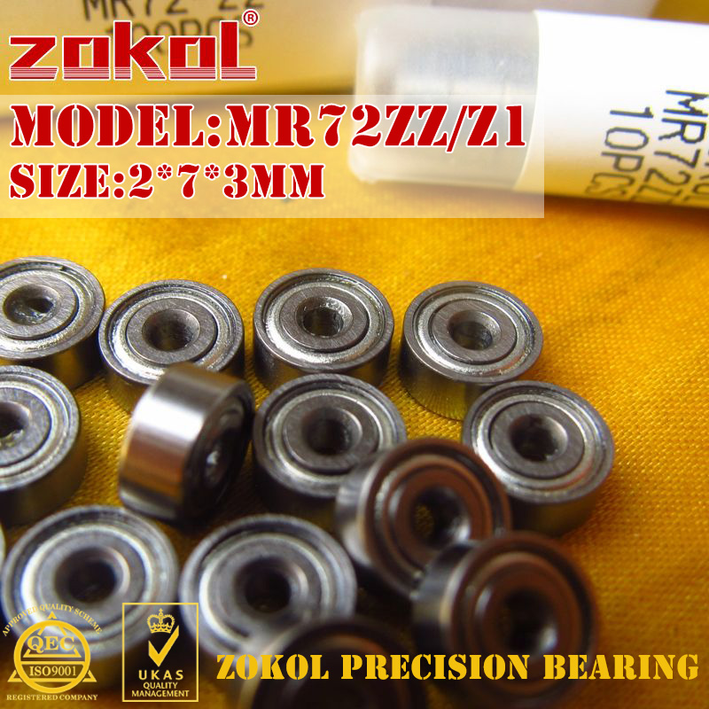 2x7x3 mm MR72zz 25 PCS Metal Shielded PRECISION Ball Bearing Bearings MR72z