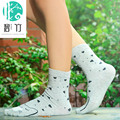 MS BIZHU new winter warm cotton socks in tube socks socks cute socks students
