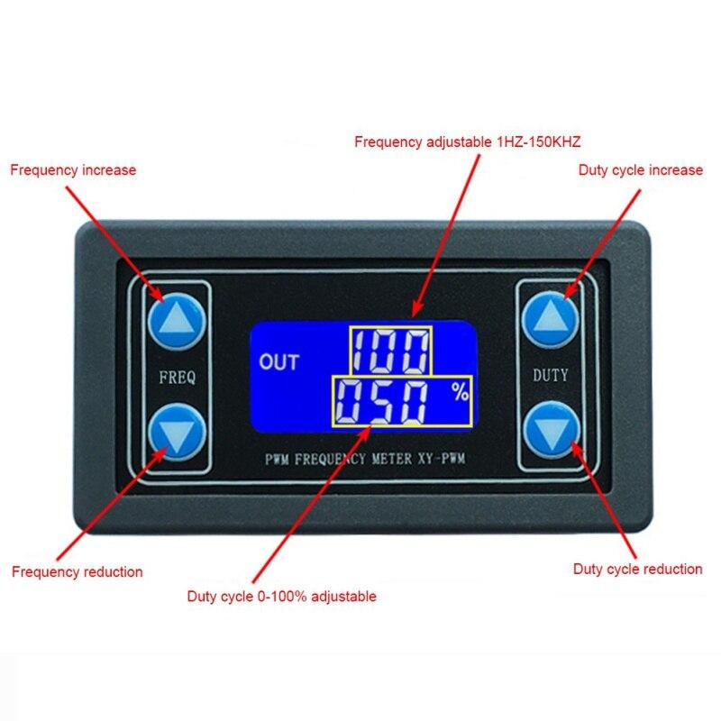 1hz-150 Khz Pwm Pulse Frequenz Duty Zyklus Einstellbar Modul Signal Generator Neue 0259