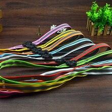 Ошейник безопасности для домашних животных 8 цветов светодиодный поводок шнуровой ремень мигающий жгут свинцовый свет красочный нейлон