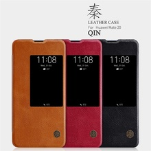 For Huawei Mate 20 Pro Flip Case Mate 20X Mate 20 Cover Nillkin QIN Series Flip Leather