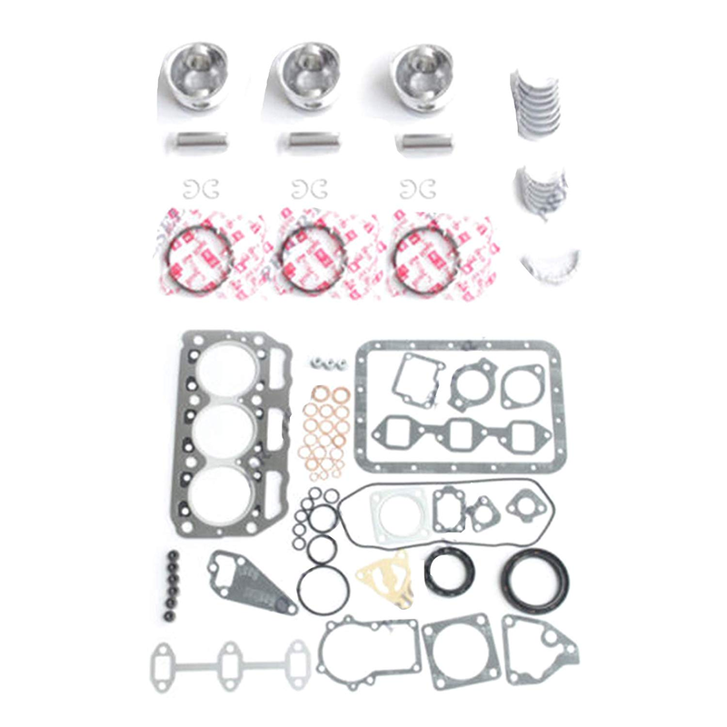 Spare Part 3T72SB 3T72SA B 3T72H N 3T72 Engine Rebuild Kit Excavator Gasket Kit Parts for Yanmar Tractor digger