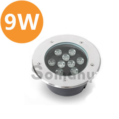 Longevity 2PCS/Lot 9W Led Underground Light Rustproof AC85-265V Warm/Cool White for Outdoor Lighting Led Recessed Spotlight 6x1w led underground light ip67 led path recessed light ac100 240v white light 400lm electric shock protection 36pcs lot