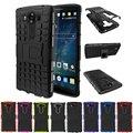 Гибридный Прочный Heavy Duty Hard Cover Чехол для LG V10 Телефон Случае С Подставкой