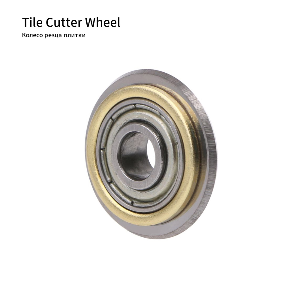 Manual Tile Cutter Wheel Rotary Bearing Wheel Tile Brick Cutter Replacement For Cutting Machine 22mm Cutting Tools Accessories