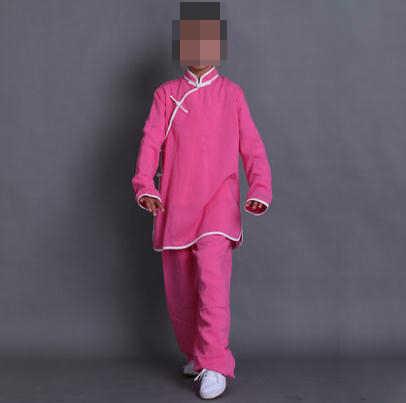 Kids & adult Unisex Linnen vechtsport kleding pinkgreen/rood/blauw wudang kung fu wushu taijiquan uniformen tai chi pakken 22 kleur