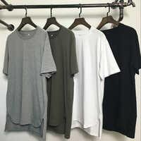 2019 étendre hip hop rue T-shirt en gros marque de mode t-shirts hommes été manches courtes surdimensionné T-shirt hommes/femmes