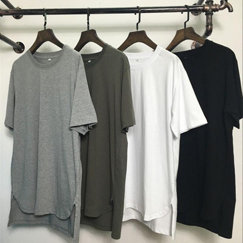 2019 להאריך היפ הופ רחוב חולצה סיטונאי אופנה מותג t חולצות גברים קיץ קצר שרוולים oversize חולצה גברים/נשים