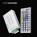 44Key LED IR Remote Controller  DC12V-24V 12A 144W for RGB LED Strip 5050 3528 good tools for led strip