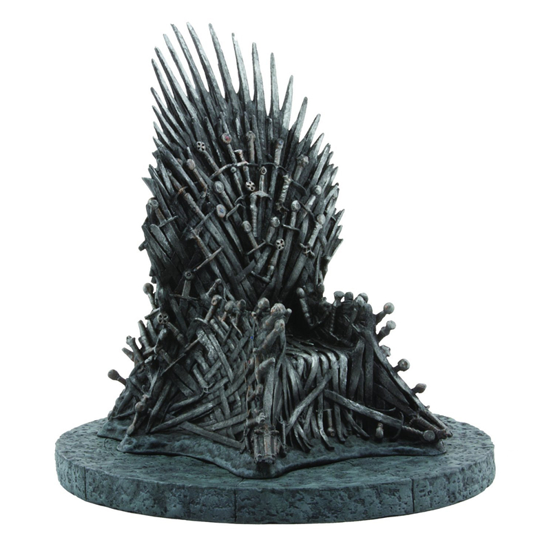 Game of Thrones Action Figure Collectible Model PVC 17M The king's throne Brinquedos doll Christmas Gift Toy HZW130 all characters tracer reaper widowmaker action figure ow game keychain pendant key accessories ltx1