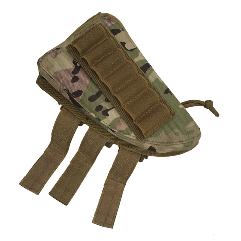 5 Colors Military Airsoft Paintball War Game CS Rifle Ammunition storage bag Portable Pouch for Hunting sports #2168