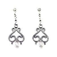 925 Sterling Silver Swirling Chandeliers Drop Earrings European Style Jewelry For Women Fashion Charms S