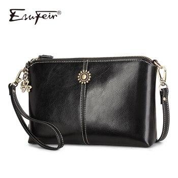 bc283af64273 Женская сумка на плечо из натуральной кожи, кожаная сумка через плечо,  роскошная маленькая сумочка, кошелек, женская сумка-мессенджер, повсе.