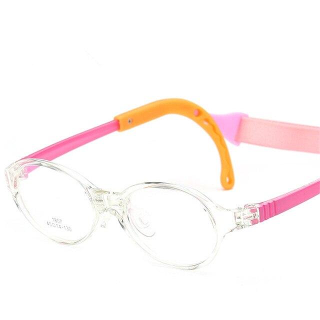 משקפיים לילדים ילד ילדה משקפיים אופטי משקפיים Eyewear מסגרת ילדי מרשם משקפיים מסגרת סיליקון האף טיפול 807