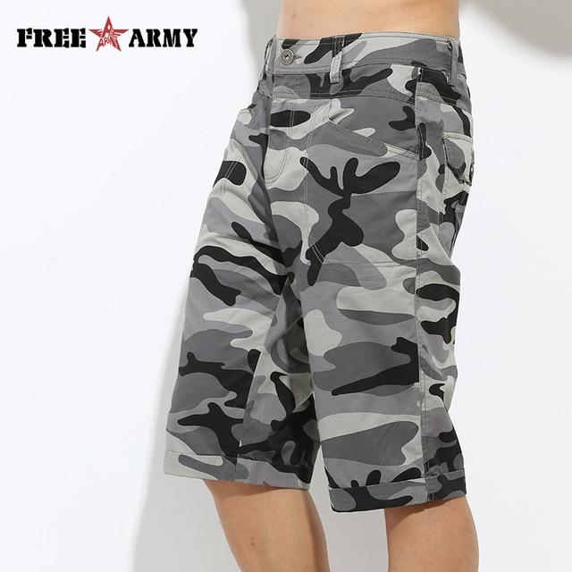 2016 Summer Style Shorts Camouflage Men Casual Shorts Cotton Pocket Decoration Mens Camo Shorts Military Clothing MK-7106