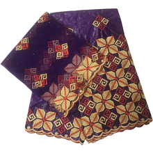 цены african diy lace fabric bazin riche getzner high quality embroidery african guinea brocade nigerian gele headtie 5+2 yards/lot
