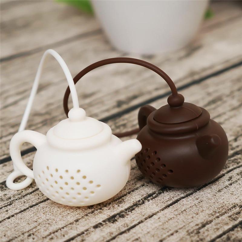 Горячая Распродажа чайник с милым декором Форма чайный мешок сито пищевого силикона свободный Чай Infuser Фильтр травы лист крученый диффузор BPA бесплатно|Ситечки для заваривания чая|   | АлиЭкспресс