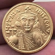 Византия Империя 686-687 лет копия монеты 20 мм