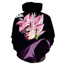 Лучший!  Dragon Ball Z Goku 3D Принт Толстовка Пальто Мужчины Женщины Толстовки Пуловеры Верхняя Одежда Толст